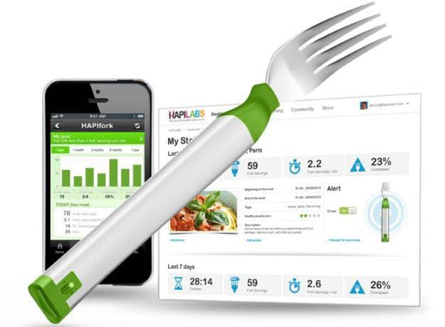 Electronic Fork Design Blasts You With Lights If You Eat Too Much