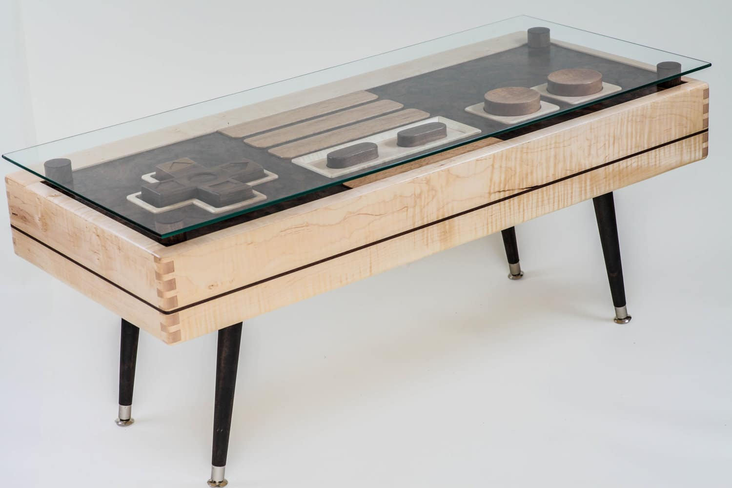 Functional Wooden Nes Controller Coffee Table Available For 3 700