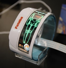 Flexible OLED Screen From Futuba Might Impress Us More Than Samsung's