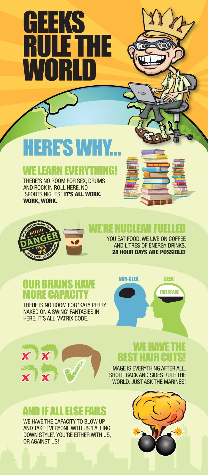 Geeks Rule The World & Here Is Why [Infographic]