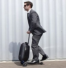 Micro Luggage Scooter: The Luggage That Takes You For A Ride