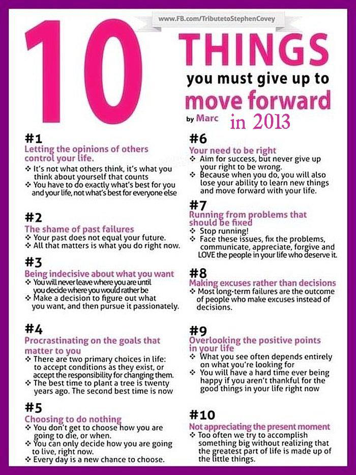 10 Things To Consider That Will Guarantee A Great 2013 [Infographic]