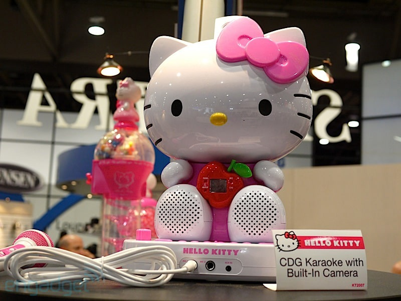 Tickled Pink That Hello Kitty Goes Tech At CES 2013