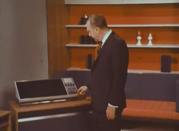 Home Office Design Of 2001 As Imagined In 1967 [Video]
