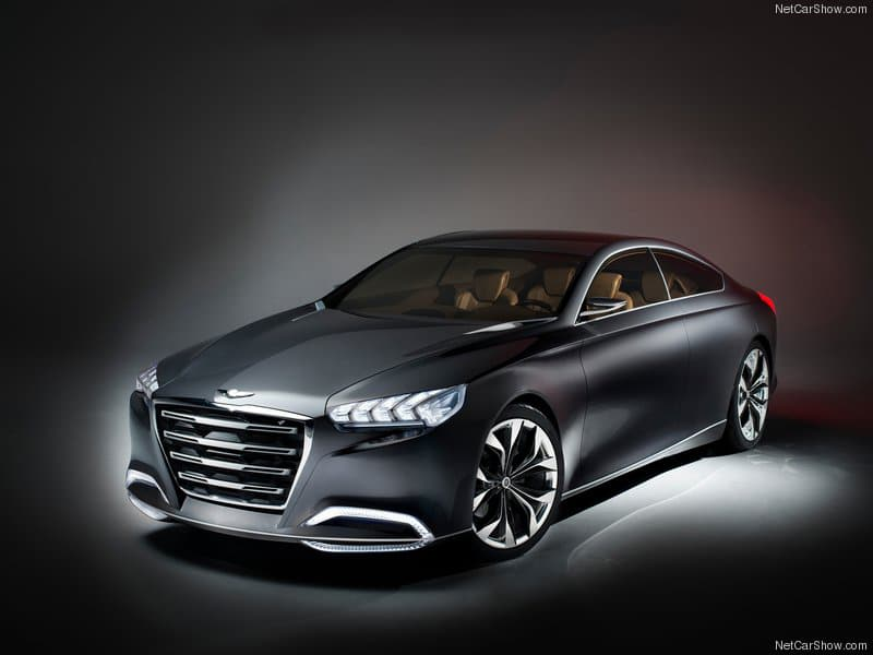 Hyundai HCD-14 Genesis Concept Car Is Like R2-D2's Cousin