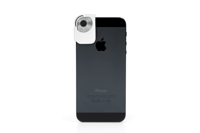 iPhone 5 Camera Clip-On Preserves Reality & Reduces Reflection