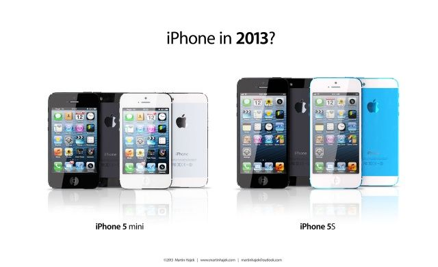 Is This How The iPhone 5S & iPhone Mini Might Look?