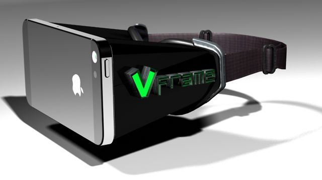 Fully Immersive iPhone Virtual Reality Head-Mounted Display