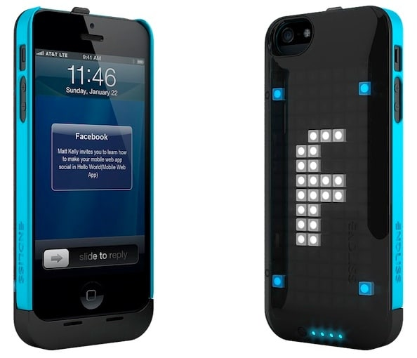 LED iPhone 5 Case Displays Pixelated Messages On Its Back
