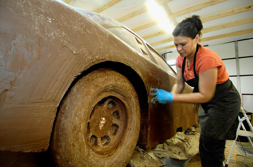 World's Only Life-Size Chocolate Car Is Now Complete