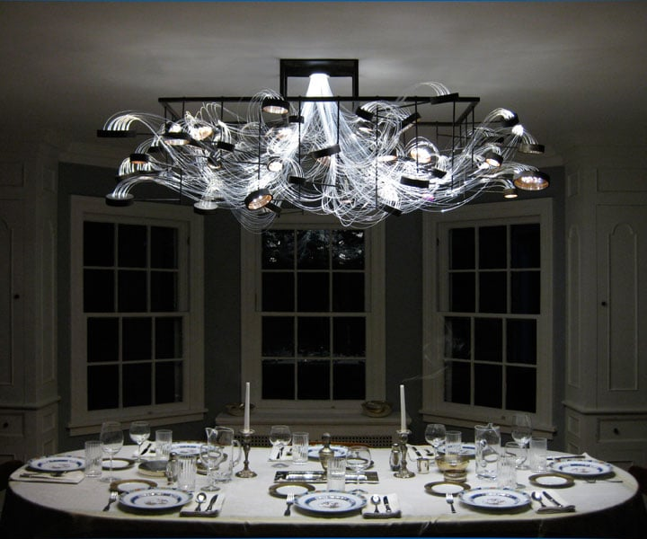 The Elegant Petri Dish Chandelier: Perfect For Biology & Science Geeks