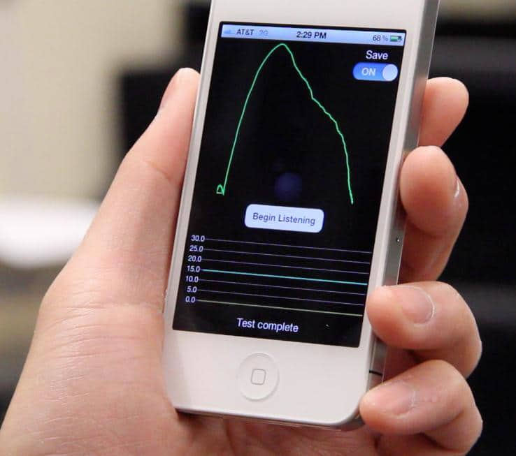 SpiroSmart: The Simple App Some Doctors Use To Monitor Lung Health