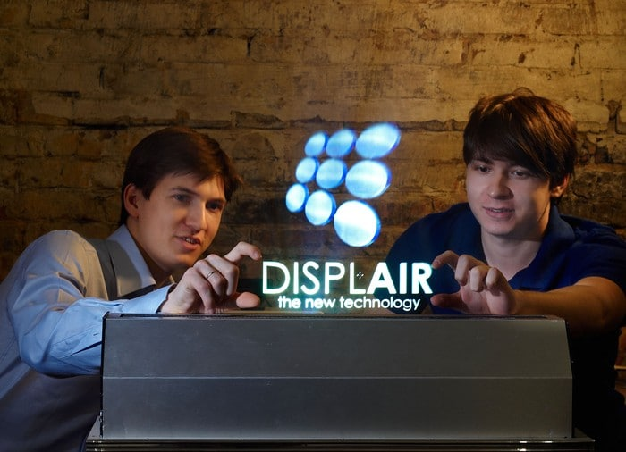 Displair Makes Midair Touch-Enabled Air Holograms Mainstream