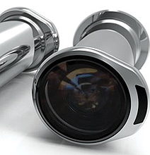 Innovative Portable Peephole Design Gives You A 360-Degree View