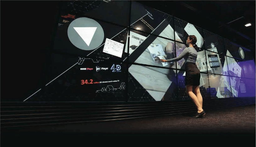 World's Largest Multi-Touch Screen Is Located In The UK