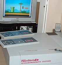 Retro Geek Paradise: Your Own NES Living Room Design