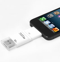 Connector Drive Instantly Increases Your iPhone's Storage Capacity