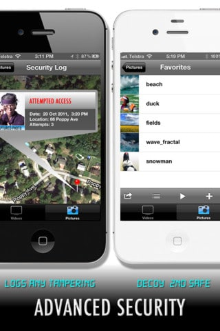 iphone security apps picture safe iphone app adds protection to your sensitive 8679