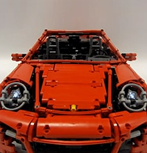 LEGO Replica Build Is An Exact Copy Of A Real Porsche 911