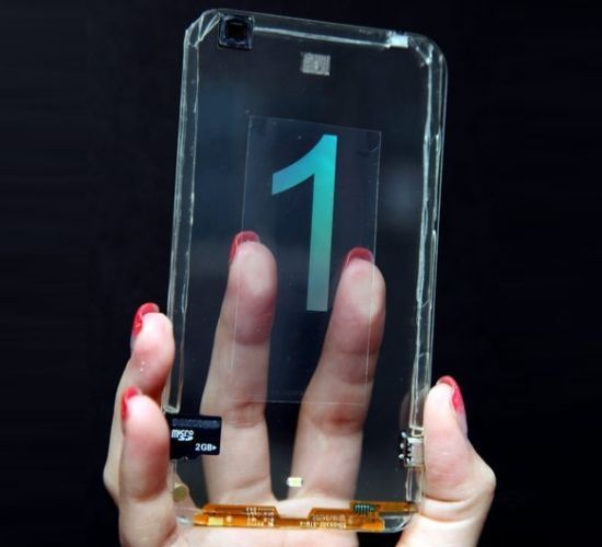 Real Transparent Smartphone Introduced By Taiwanese Company