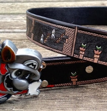 Retro Super Mario Belt Wraps An Entire Level Around Your Waist