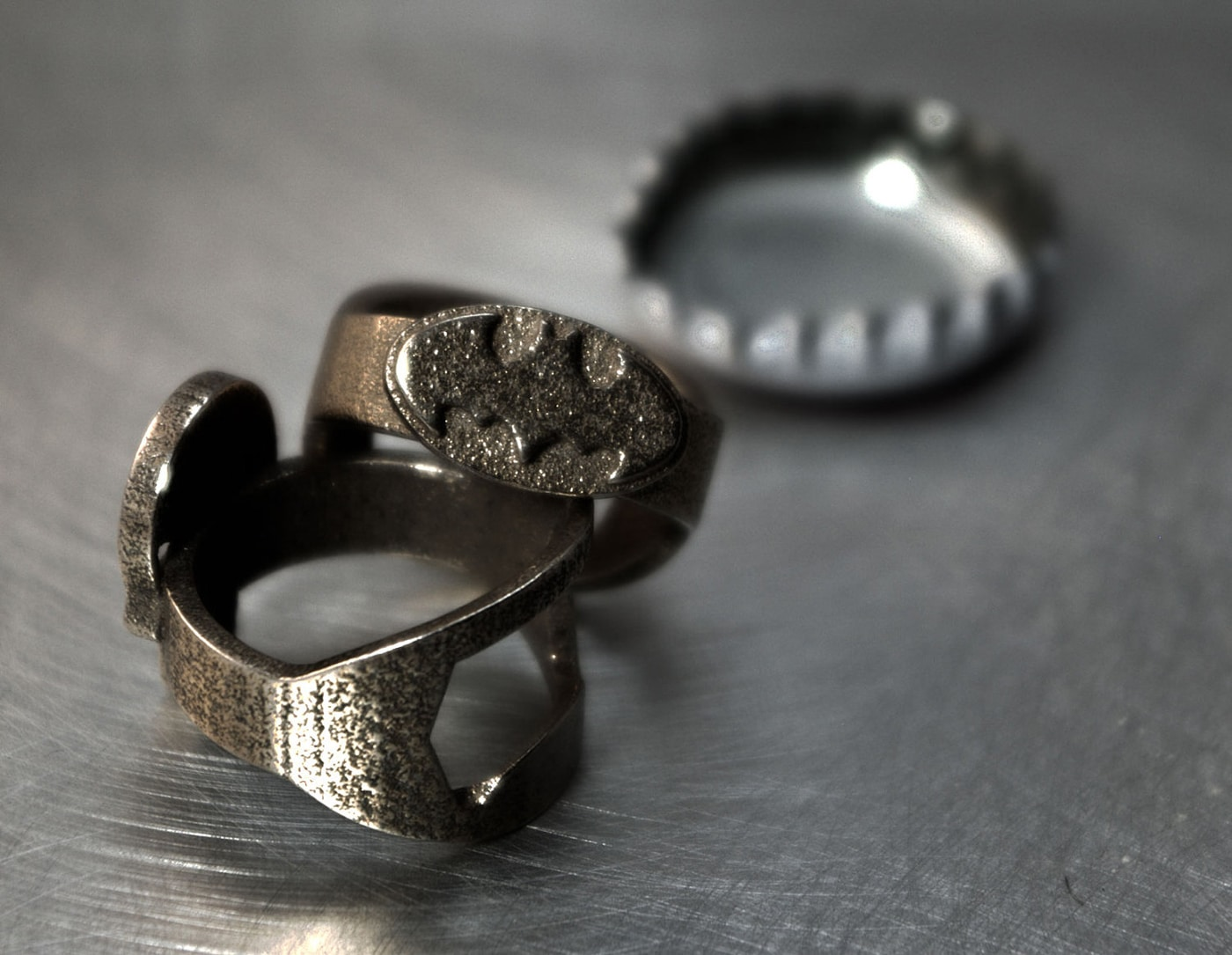 3D Printed Batman, Superman, Rebel Alliance & More Bottle Opener Rings