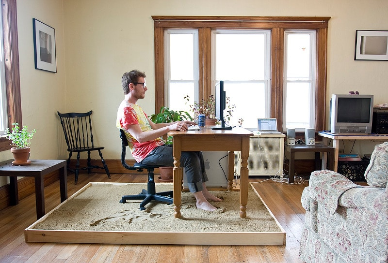 Home Office Design That Brings The Beach To Your Desk Every Day