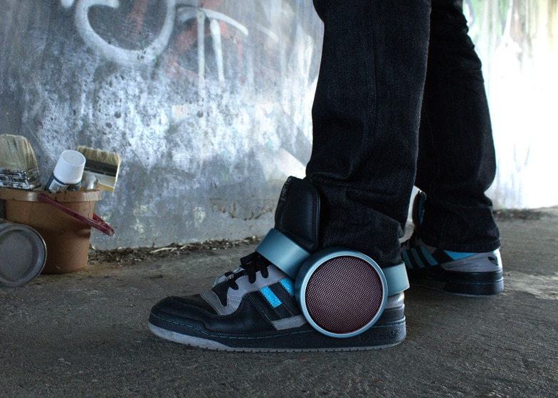 Sneaker Speakers May Reinvent The Way We Play Music Outdoors