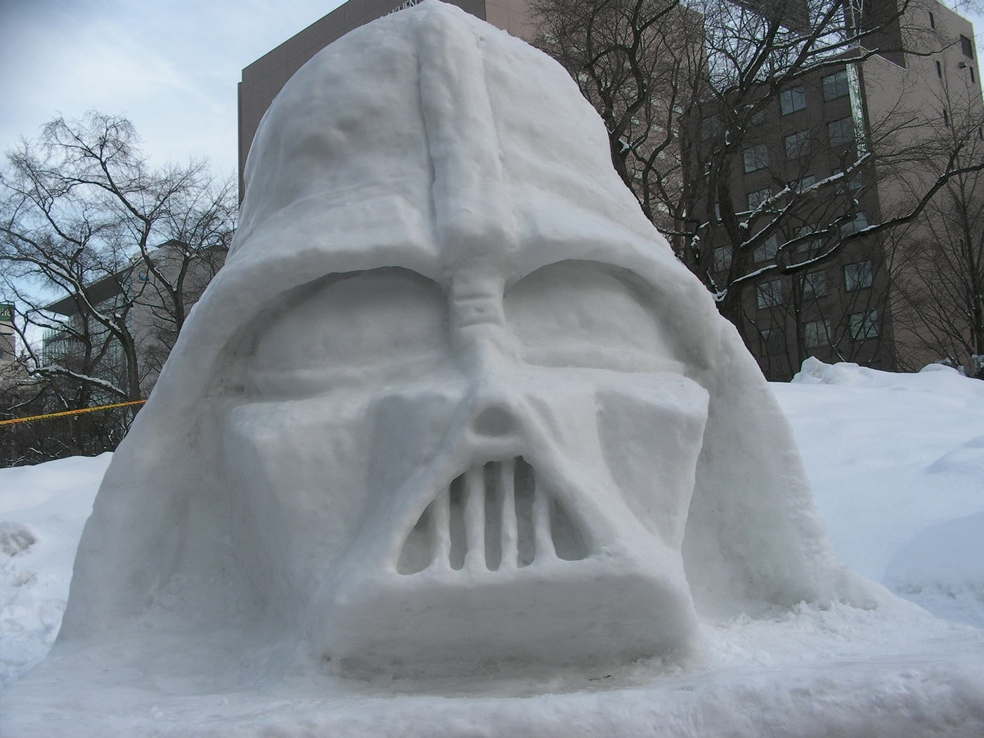 Star Wars Snow Sculptures To Inspire You [15 Pics]