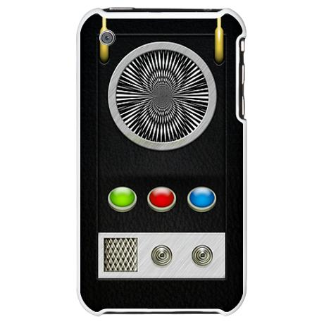 Star Trek iPhone Case - Communicator: Star Trek Collector's iPhone 3G Case