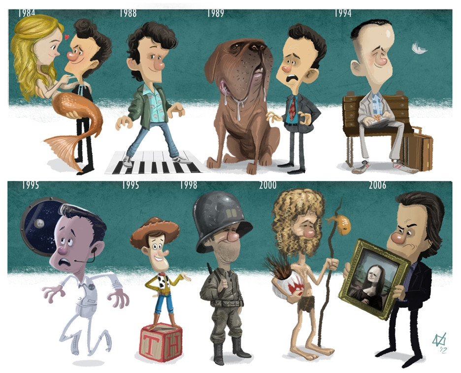 The Evolution Of 8 Actors & Characters Through Cartoon Timelines