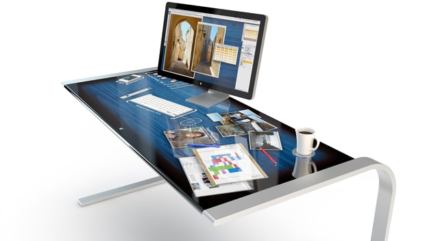 touchscreen-desk-office-solution