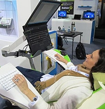 Computer Recliner Provides Total Comfort For Computer Geeks