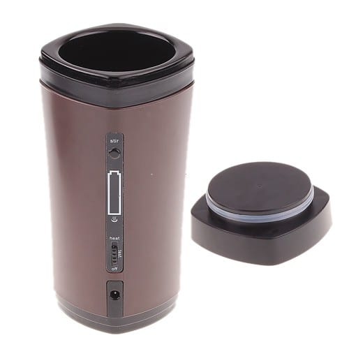 USB Coffee Cup That Heats, Stirs & Charges Itself For Mobile Use