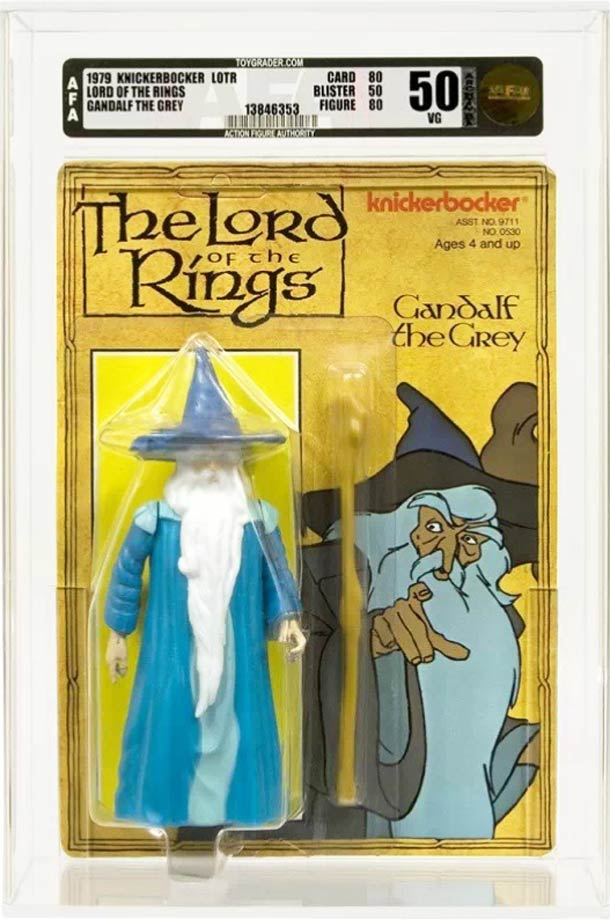 Vintage Action Figures From The 1978 The Lord Of The Rings Movie