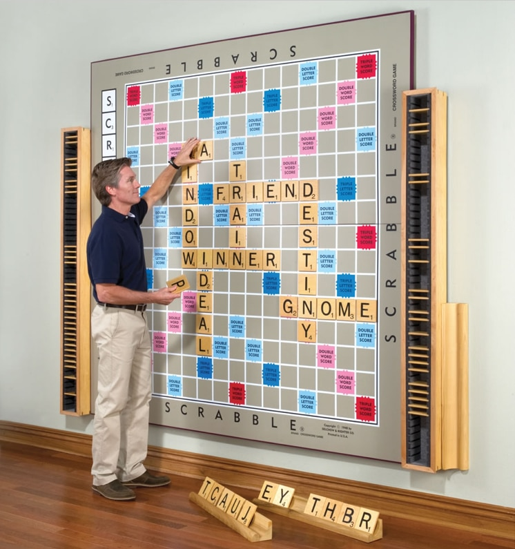 World's Largest Scrabble Game Is A Handcrafted Work Of Art