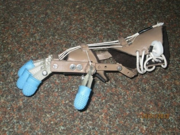 5-Year-Old Receives Revolutionary Inexpensive 3D Printed Robotic Hand
