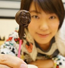 3D Printed Edible Chocolate Version Of Your Own Face