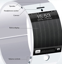 Apple iWatch: What The Curved Glass Wristwatch Design Could Look Like