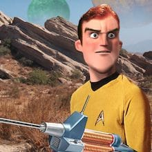 Star Trek Characters & Aliens As Imagined By Pixar