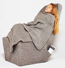 The Chair Snuggie Will Wrap You In Warmth All Winter Long