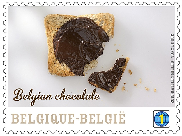 Snail Mail Just Got More Interesting With Chocolate Flavored Stamps