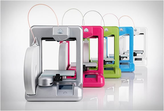 Cube 3D Printer Makes Professional Creativity Cheap