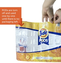 Disappearing Package Design Creates No Waste…It Just Washes Away
