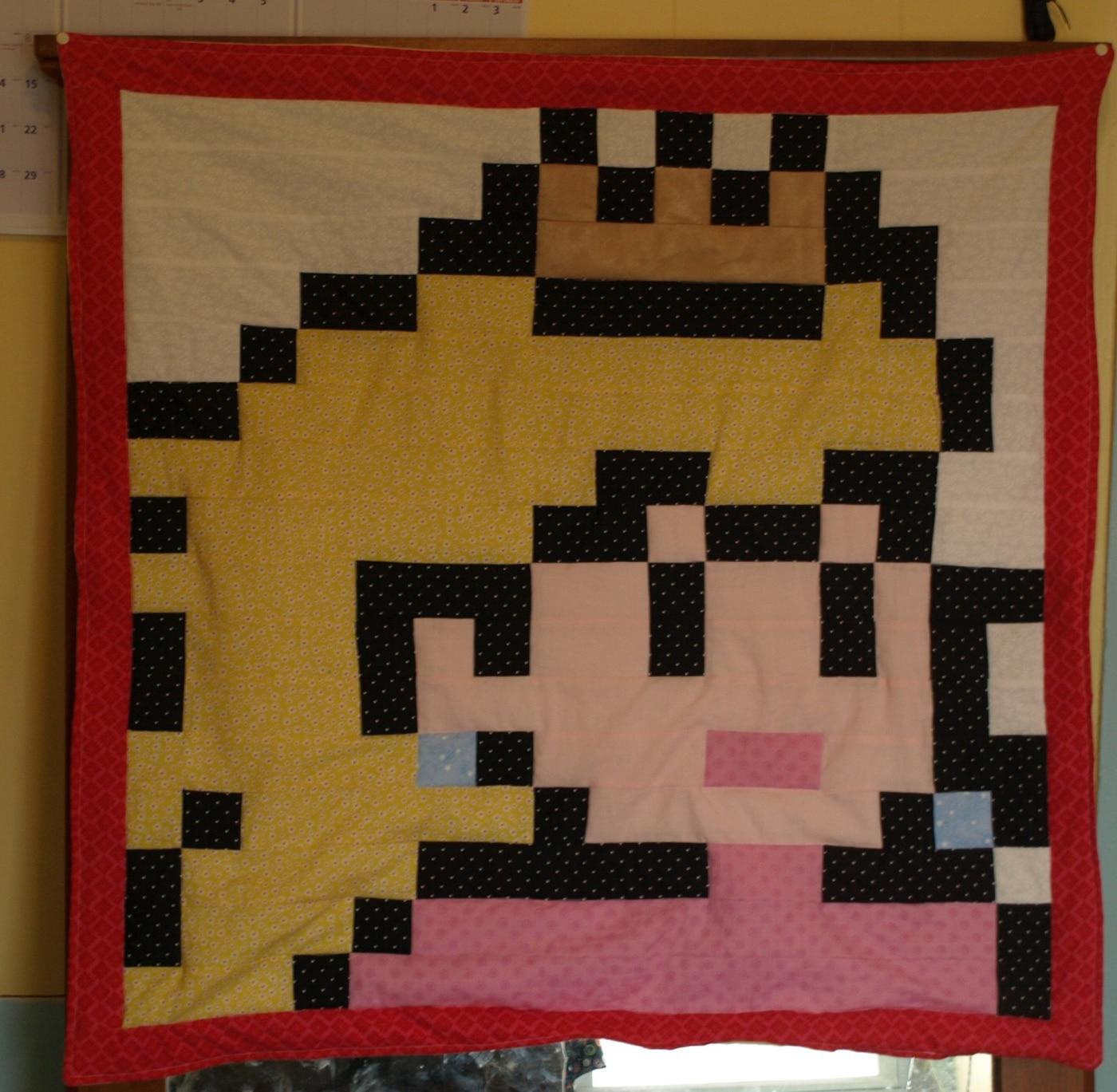 princess-peach-baby-blankets