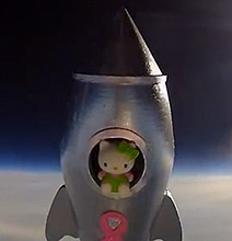 The 7th Grade Science Project That Put Hello Kitty In Space