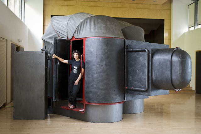 This Is The World's Largest Life-Size Self-Portrait Camera