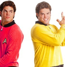 Join Starfleet In These Officially Licensed Star Trek Footie Pajamas