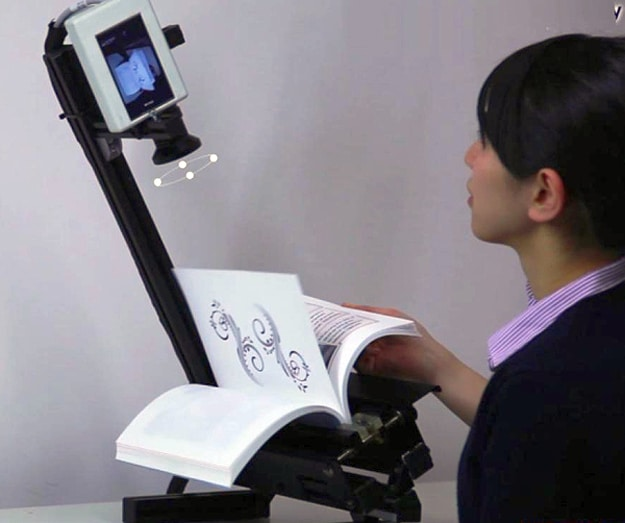 Scanning System Can Make An E-Book From A Traditional Book In Minutes