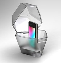 Mood Light iPhone Cage Turns Your Attention To The Real World